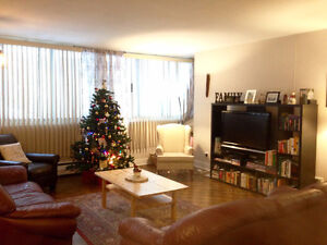 LARGE 3 1/2 - all inclusive- for summer sublet (May 1-Aug 1)