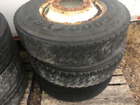TRuck tires 11R 22.5  all roadable & at least 60   0/0 London Ontario Preview