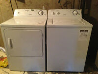 Moffatt Washer and Dryer. Moving Must Sell.
