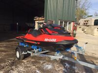 2016 Seadoo Rxp 300 X - 7 Hours - 2 Year Warranty - Fender Kit - Cover - Upgraded Trailer