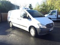 2012-62-reg Mercedes vito 113CDI euro5 LONG Wheel base freezer van FREE UK Nationwide delivery