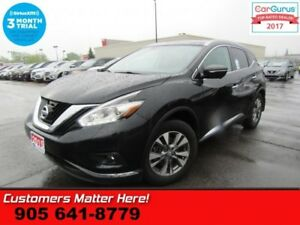 2015 Nissan Murano SL  AWD NAV LEATHER PANO-ROOF BS CW 360-CAMER