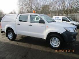 TOYOTA HI-LUX 2.5D-4D 4WD ACTIVE £13995+VAT