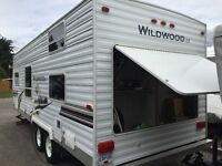 Wildwood 23 BHLE travel trailer