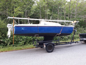 Catilina 22 with trailer