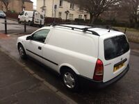 Vauxhall Astra van full years mot