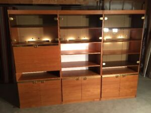 Teak Wall Unit | Buy and Sell Furniture in Calgary | Kijiji Classifieds