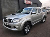 2014 Toyota Hilux Invincible 3.0D-4D Double Cab 4x4 Diesel Pickup *Leather *89k*