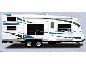 Shockwave T23FLSPL light weight 23ft toy hauler