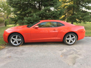 2010 Camaro - orange on orange