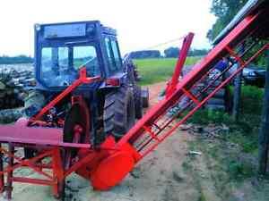 Banc scie trois points tracteur