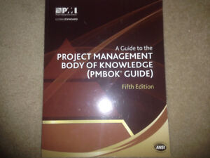 PMBOK 5th Edition New