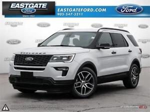 2018 Ford Explorer Sport Executive Unit +$750.00 Bonus