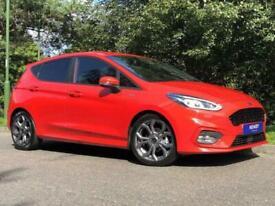 image for 2020 Ford Fiesta 1.0 EcoBoost Hybrid mHEV 155 ST-Line Edition 5dr HATCHBACK Petr