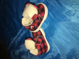 Size 1W infant Elmo boots