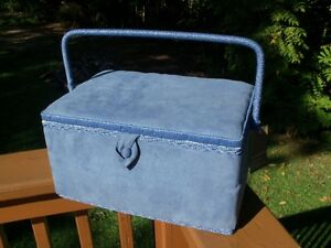 Nice Large Sewing basket--NEW- for sewing or quilting notions!