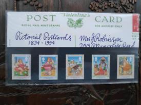 1994 Pictorial Postcards Presentation Pack - Royal Mail Stamps