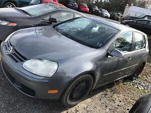 2007 VW GOLF 5SPD,LOADED 2500$@902-293-6969