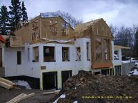 New Homes, Renos, ICF Foundations, Garages, Additions and more