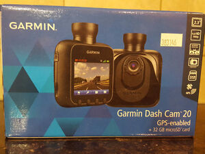 Garmin Dash Cam 20 GPS-enabled, Brand New, never been out of box