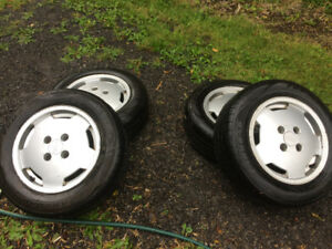 Audi 14 inch mags with perfect tires