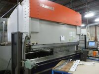 HAMMERLE 10' X 140 TON CNC PRESS BRAKE