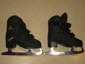 Patin artistique noir junior 9J black figure skates Jackson Soft