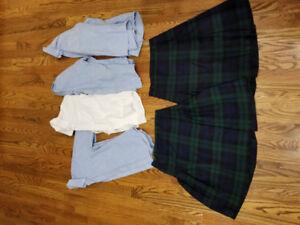 Uniforms size 8-10