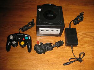 Nintendo Gamecube System Black Tested Sarnia Sarnia Area image 1