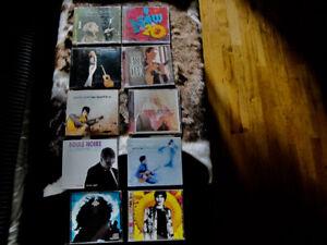 LOT DE CD A VENDRE $2 CHACUN