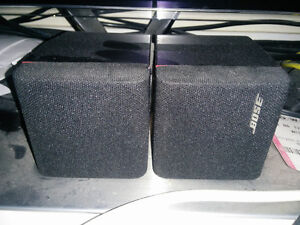 BOSE AM-7 ACOUSTIMASS Speakers and BOSE FS-6 FLOORSTANDS   PLEAS Kitchener / Waterloo Kitchener Area image 3