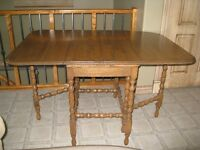 Antique Gate Leg Table - REFINISHED
