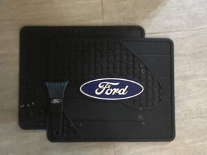 Ford Mats and Scrapper