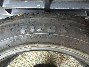 Two 205 50 R16 tires E St. John's Newfoundland image 2