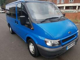 NO VAT. Ford TOURNEO GLX 280 SWB FULL HISTORY PRINT OUT TO PRESENT MILEAGE. 72 K