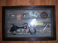 ***PRICED TO SELL HARLEY DAVIDSON SHADOW BOX $25***