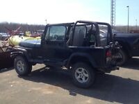 1994 Jeep Wrangler YJ Coupe (2 door)