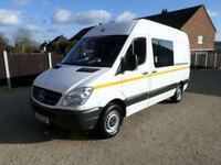 2012 Mercedes-Benz Sprinter, 313CDI MWB, Welfare Van, Mess Van, Toilet Van, FSH