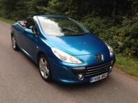PEUGEOT307 CC 1.6 16v S CONVERTIBLE *LEATHER*SERVICE HISTORY*