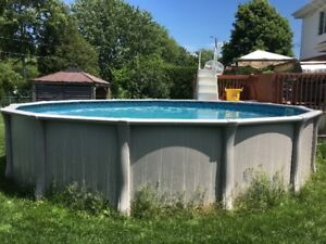 Above Ground Pool (21 feet) / Piscine Hors-Terre (21 pied)