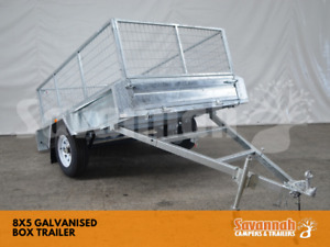 8x5 Galvanised Box Trailer with 600 Cage Edmonton Cairns City Preview