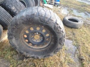 """Spare 35"""" rim an tire for F150"""
