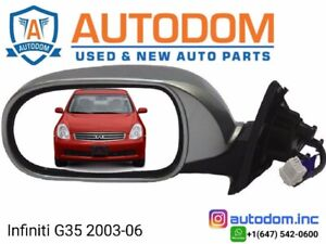 New Door Mirror Infiniti G35 2003-06