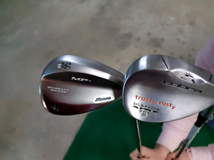 Awesome RH Mizuno and Cobra Sand Wedge Golf Clubs