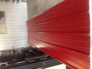 1050 SqFt Brand New Steel Roofing-Dark Red