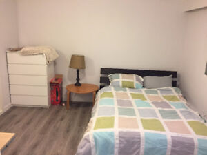 $850 Furnished ensuite for rent Oct 1st *ALL UTILITIES INCLUDED