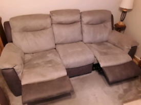 3 SEATER 2 SEATER SETTEES