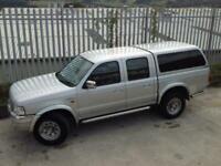 2004 FORD RANGER XLT THUNDER DOUBLE CAB D/C 2.5TD MANUAL DIESEL 4X4 SILVER