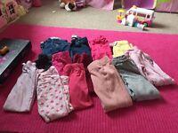 Girls age 4-5 trouser bundle
