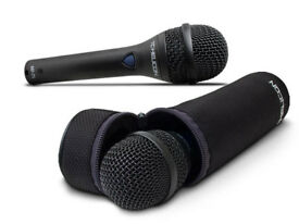 TC-Helicon MP-75 , Dynamic Vocal Microphone Incl. Mic Control for Control of Vocal Effects / USED.